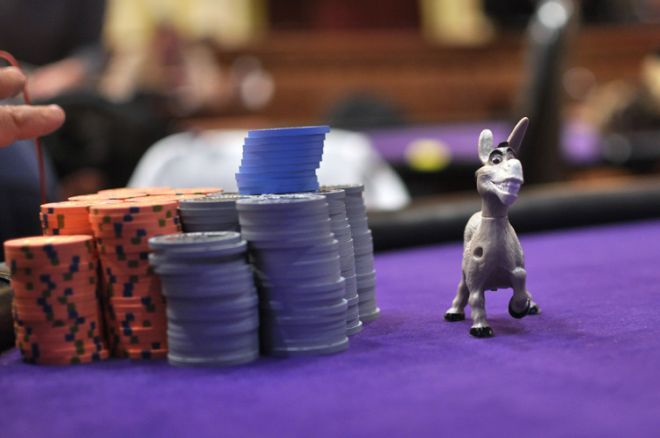 In Poker, Being Stubborn as a Mule Can Make You a Donkey