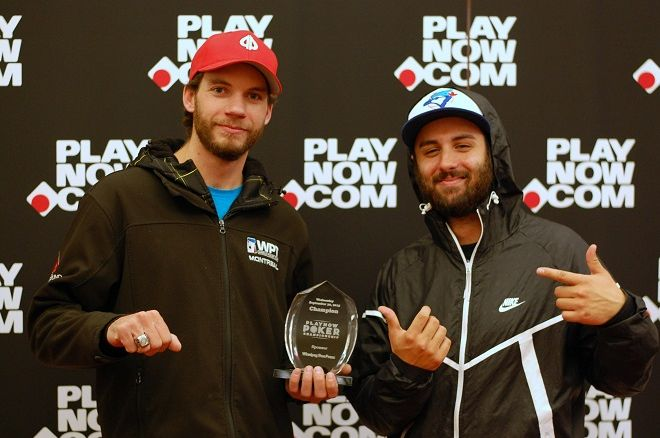 Devon Morgan PlayNow Poker Championship