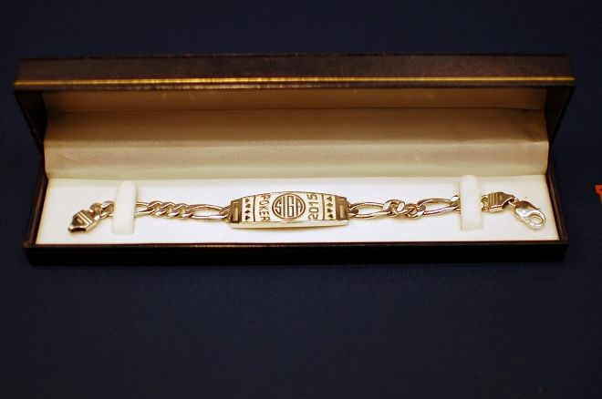 SIGA Poker Championship bracelet
