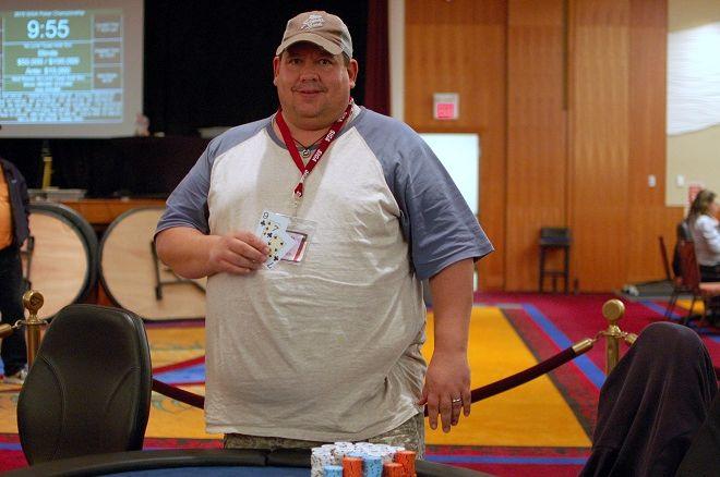 Mark Burke SIGA Poker Championship