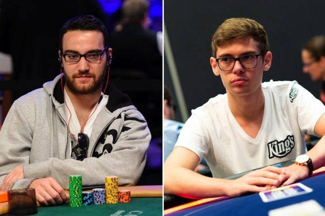 Chad Power (left) and Fedor Holz (right)
