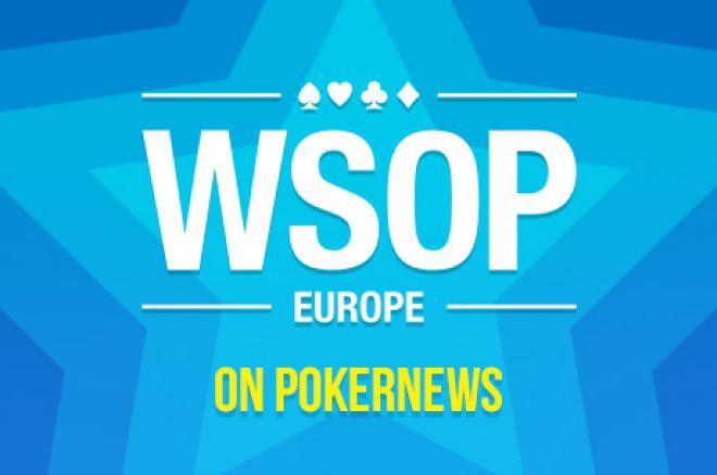 WSOP Europe: pirmąja auksine apyranke pasipuošė graikas M. Avramidis 0001