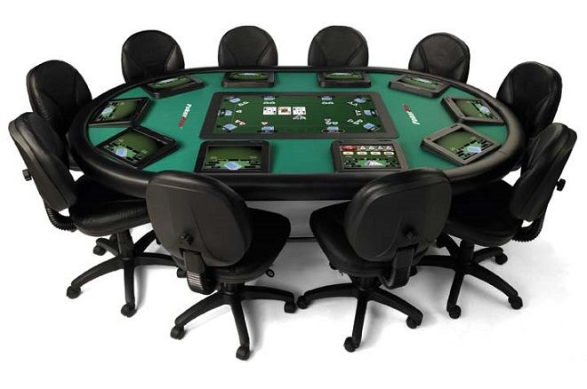 PokerTek ePoker table