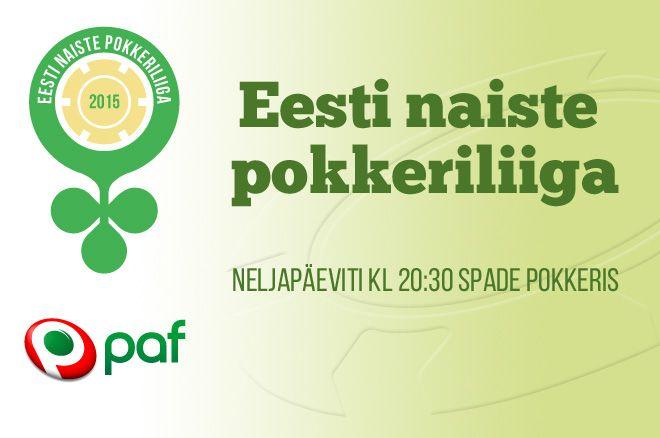 Eesti naiste pokkeriliiga 2015 kogub tuure 0001
