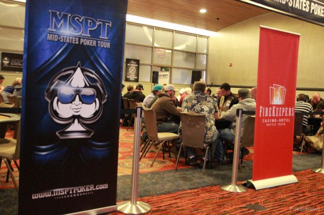 2015 MSPT Michigan State Poker Championship Day 1c: Jason Smith Leads the 40 Survivors 0001