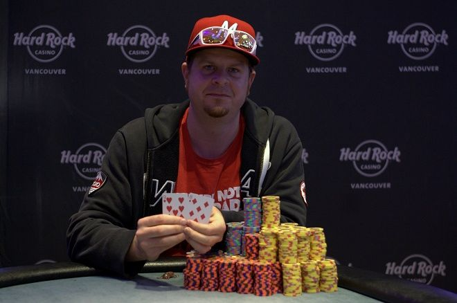 Martin Kendell PlayNow Poker Championship Hard Rock Casino Vancouver
