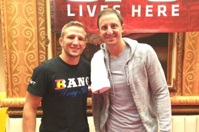 T.J. Dillashaw and Donnie Peters
