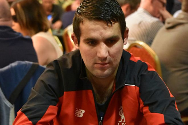 Alan White: 2015 IPO Dublin Day 1a chip leader