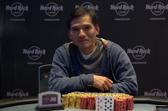 Dung Ngo PlayNow Poker Championship Hard Rock Casino Vancouver