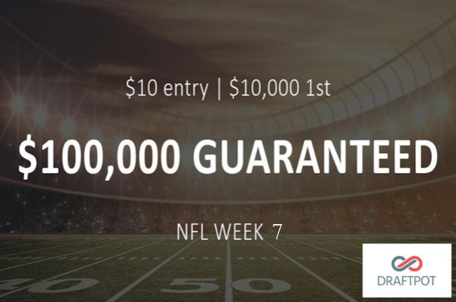 Daily Fantasy with NO Salary Cap: Win $10,000 for Just $10 On DraftPot This Weekend 0001