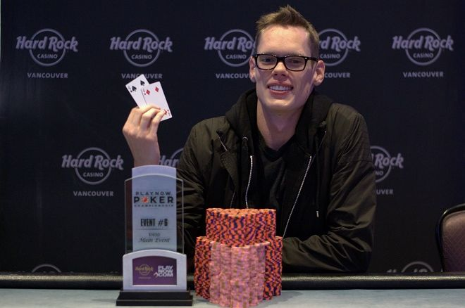 Scott McMorran PlayNow Poker Championship Hard Rock Casino Vancouver