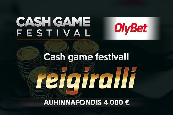 Cash Game Festival reigiralli