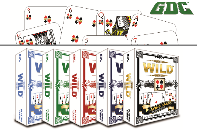 GDC Gaming & Entertainment Ltd. WILD deck of cards