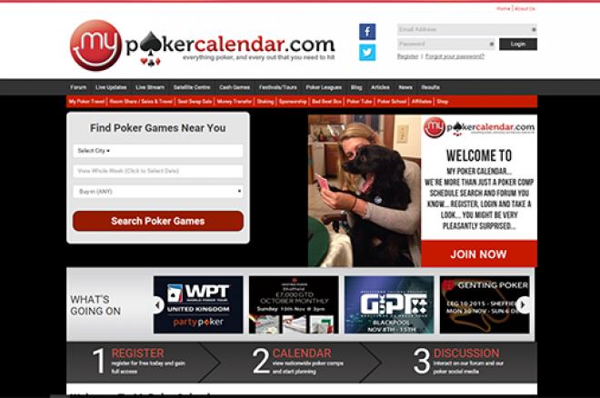 My Poker Calendar