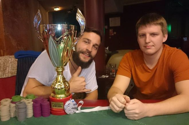 Lietuvos Pokerio čempionatas: po pirmų dviejų turų pirmauja Karolis Sereika ir Povilas... 0001