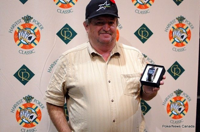 Rod Mokelky Casino Regina Harvest Poker Classic