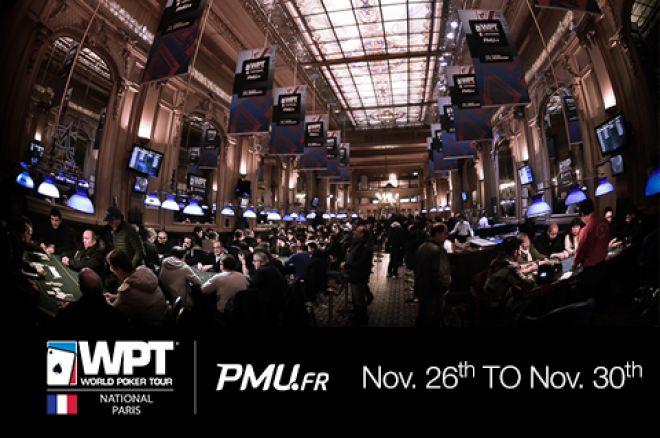 Don't Miss World Poker Tour National Paris Taking Place Nov. 20-30 0001