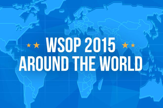 WSOP 2015 призовые по странам