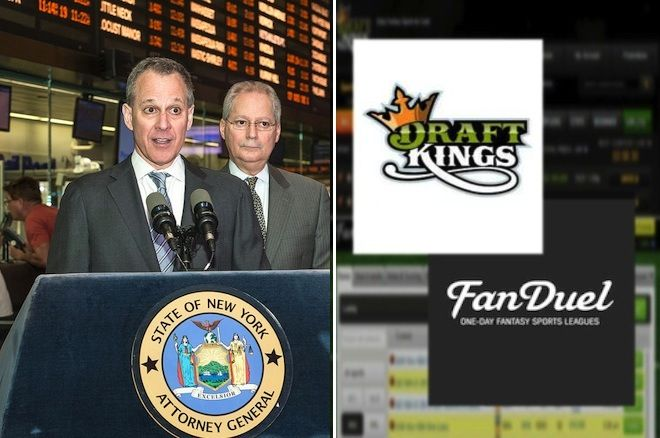 New York State Attorney General Eric Schneiderman vs. DraftKings/FanDuel