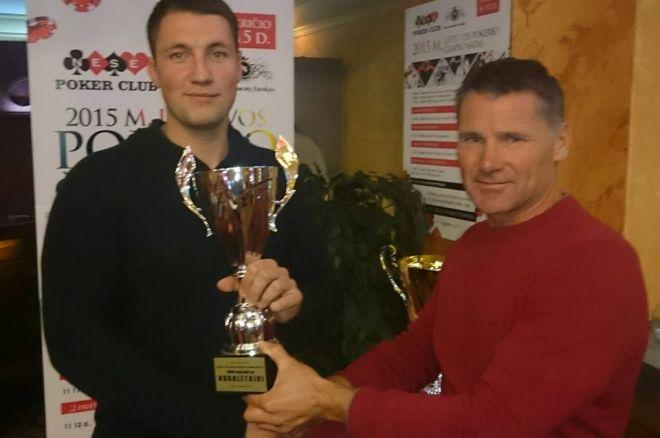 Lietuvos Pokerio čempionatas: šalutinį turnyrą laimėjo V. Semaška, šiandien prasideda... 0001