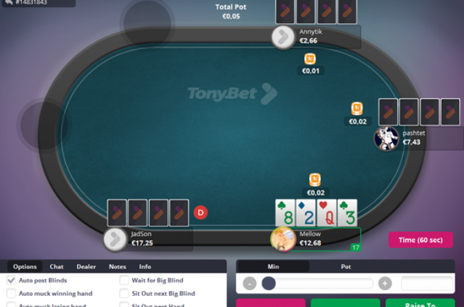 """""""TonyBet Poker"""" pristato """"NL Hold'em"""" ir """"PL Omaha"""" grynųjų pinigų žaidimus... 0001"""