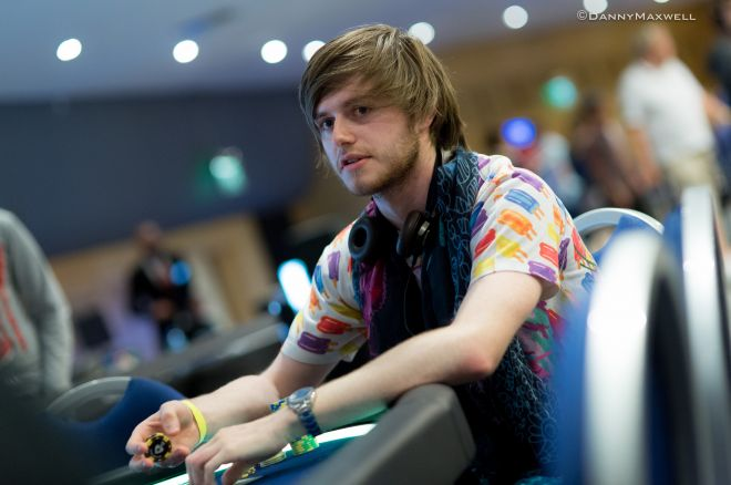 Reigning GUKPT Grand Final champion Charlie Carrel