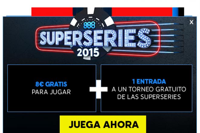 El mejor momento para jugar en 888poker.es, llegan las SuperSeries con 300.000€ Gtd 0001