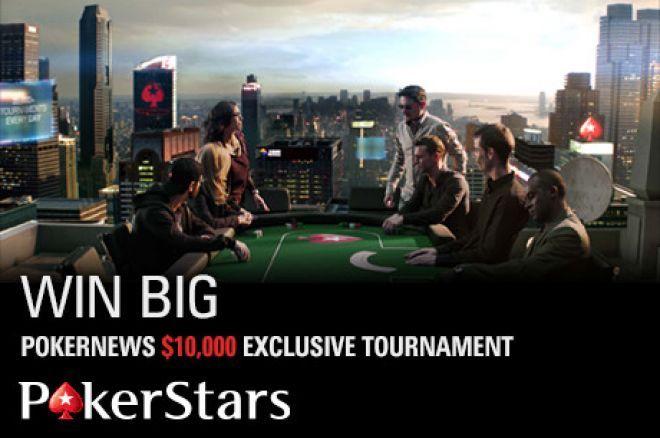 V neděli máte šanci vyhrát podíl z 10.000$ za pouhý 1$ na PokerStars 0001