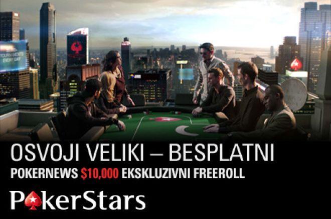 U Nedelju Imate Šansu da Osvojite Deo od $10,000 za Samo $1 Na PokerStarsu! 0001