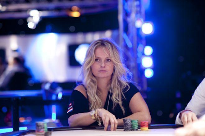 PokerNews Boulevard - Fatima Moreira de Melo met prachtige stack naar Dag 3 van BPC Namen!