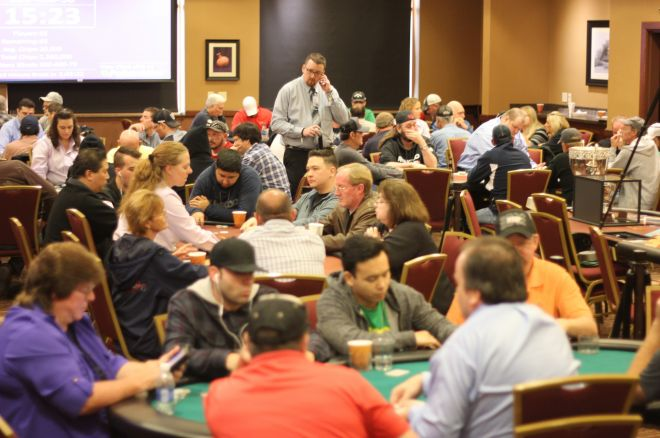 Day 1b of the RunGood Poker Series Downstream Casino Main Event at Harrah's New Orleans