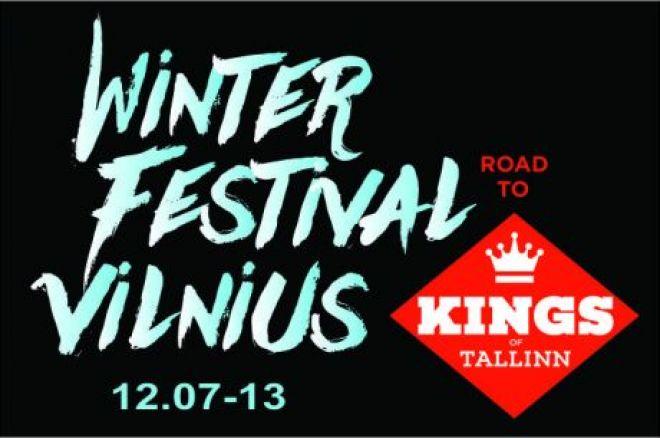 "Šiandien Vilniuje prasideda ""Baltic Winter Festival"" pokerio serija 0001"