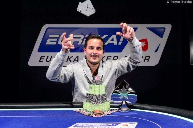 Martin Staszko si z rekordní pražské Eureky odnáší €172.600 za druhé místo 0001