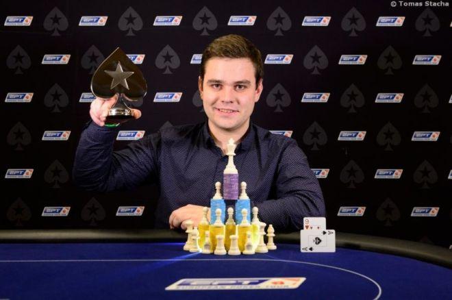 Vytenis Salickas nugalėjo EPT pokerio ir šachmatų turnyre 0001