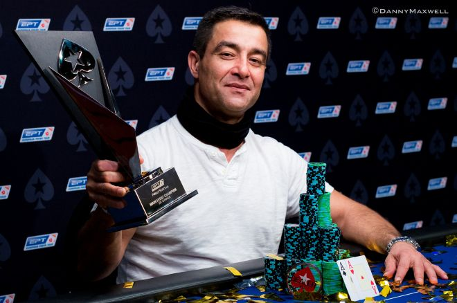 Third Time's a Charm: Hossein Ensan Wins Prague Main Event at Third EPT Final Table 0001