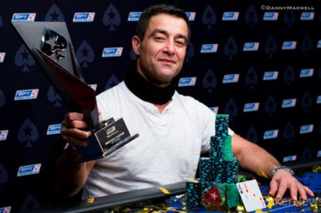 EPT ringe dominuojantis Hosseinas Ensanas iškovojo pagrindinio turnyro titulą 0001