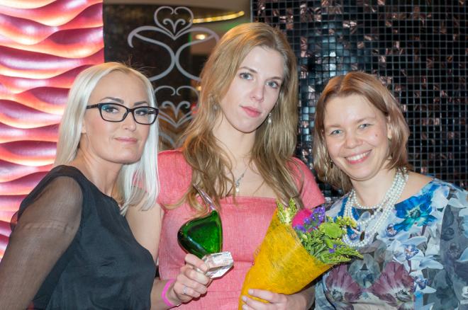 Eesti naiste pokkeriliiga 2015 võitjaks tuli Anneli Jõudna 0001