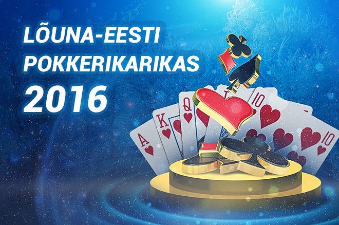 Lõuna-Eesti Pokkerikarikas 2016
