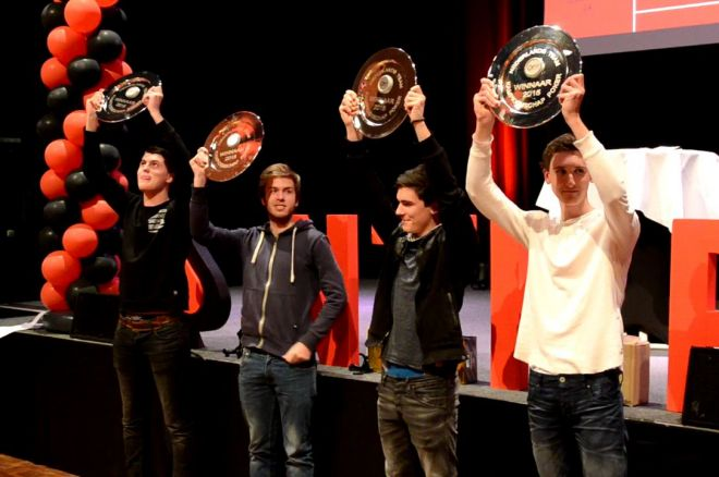 Team 'The Macau Regulars' wint het Nederlands Team Kampioenschap Poker