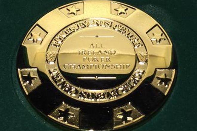 All Ireland Poker Championships winner's medal