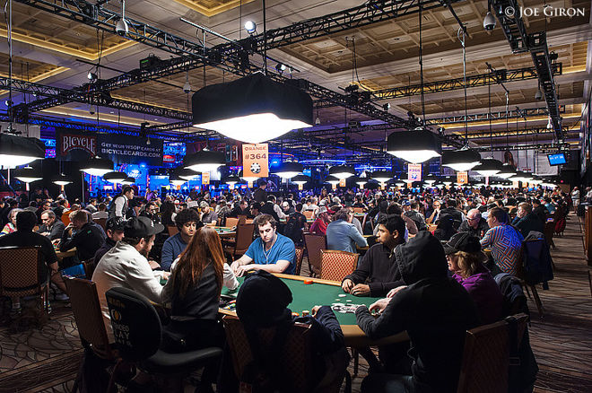 Day 1 of the WSOP Main Event