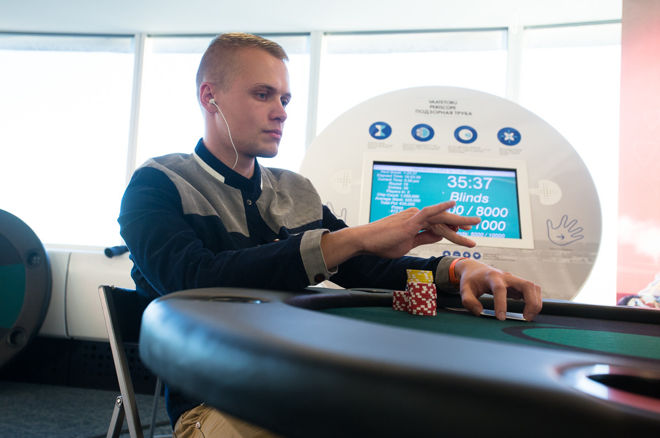 Kaspar Sein sai MPN Poker Tour põhiturniiril Viinis viienda koha 0001