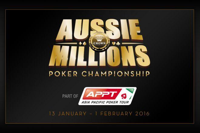Aussie MillionsメインイベントDay 3へ 0001