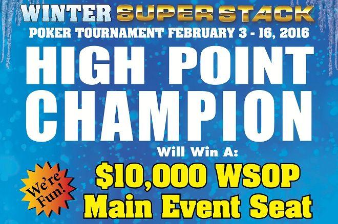 Winter Super Stack 2016 Deerfoot Inn & Casino