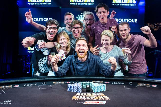 """Aussie Millions: paaiškėjo pagrindinio turnyro ir """"$100,000 Challenge"""" čempionai 0001"""