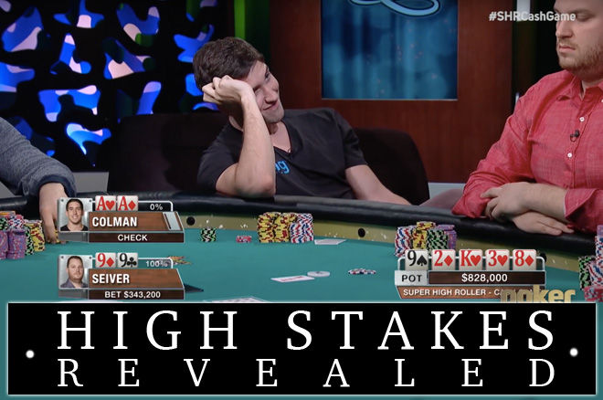 Scott Seiver en Dan Colman in Super High Roller Bowl Cash Game
