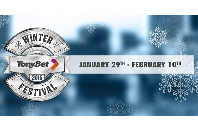 Tonybet Winter Festival Playground Poker Club