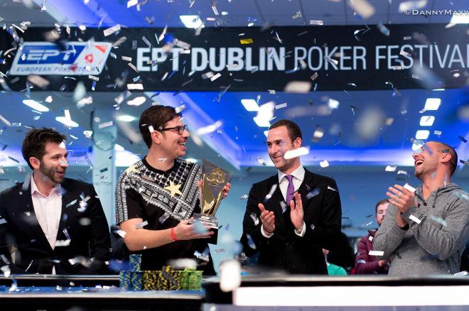 """EPT Dublino €25,750 """"High Roller"""" kovoje nepralenkiamas buvo Mustapha Kanitas 0001"""