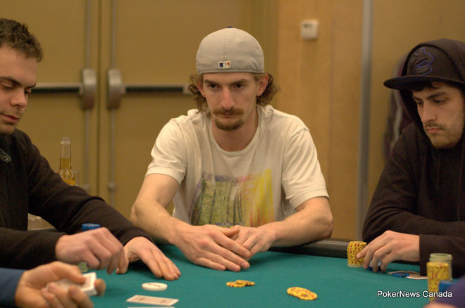 Mike Smith Deerfoot Inn & Casino Winter Super Stack