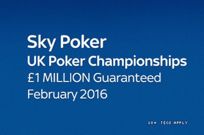 2016 Sky Poker UK Poker Championships